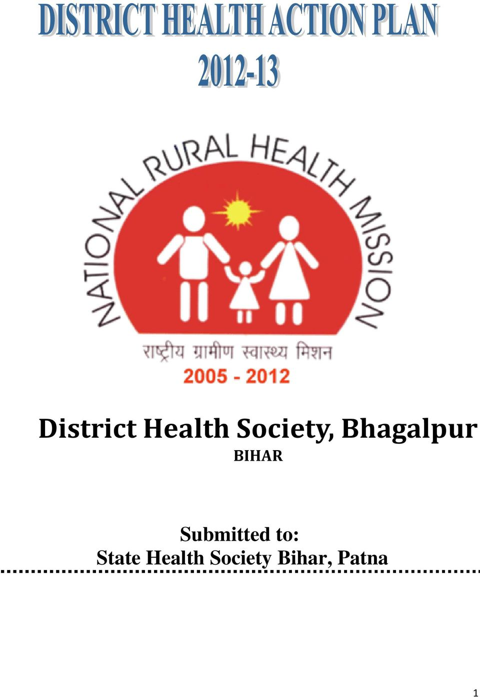 BIHAR Submitted to:
