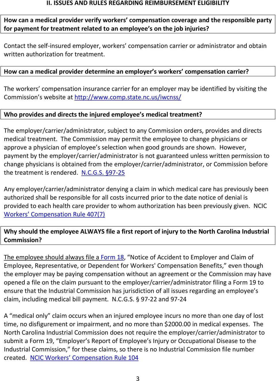 How can a medical provider determine an employer s workers compensation carrier?