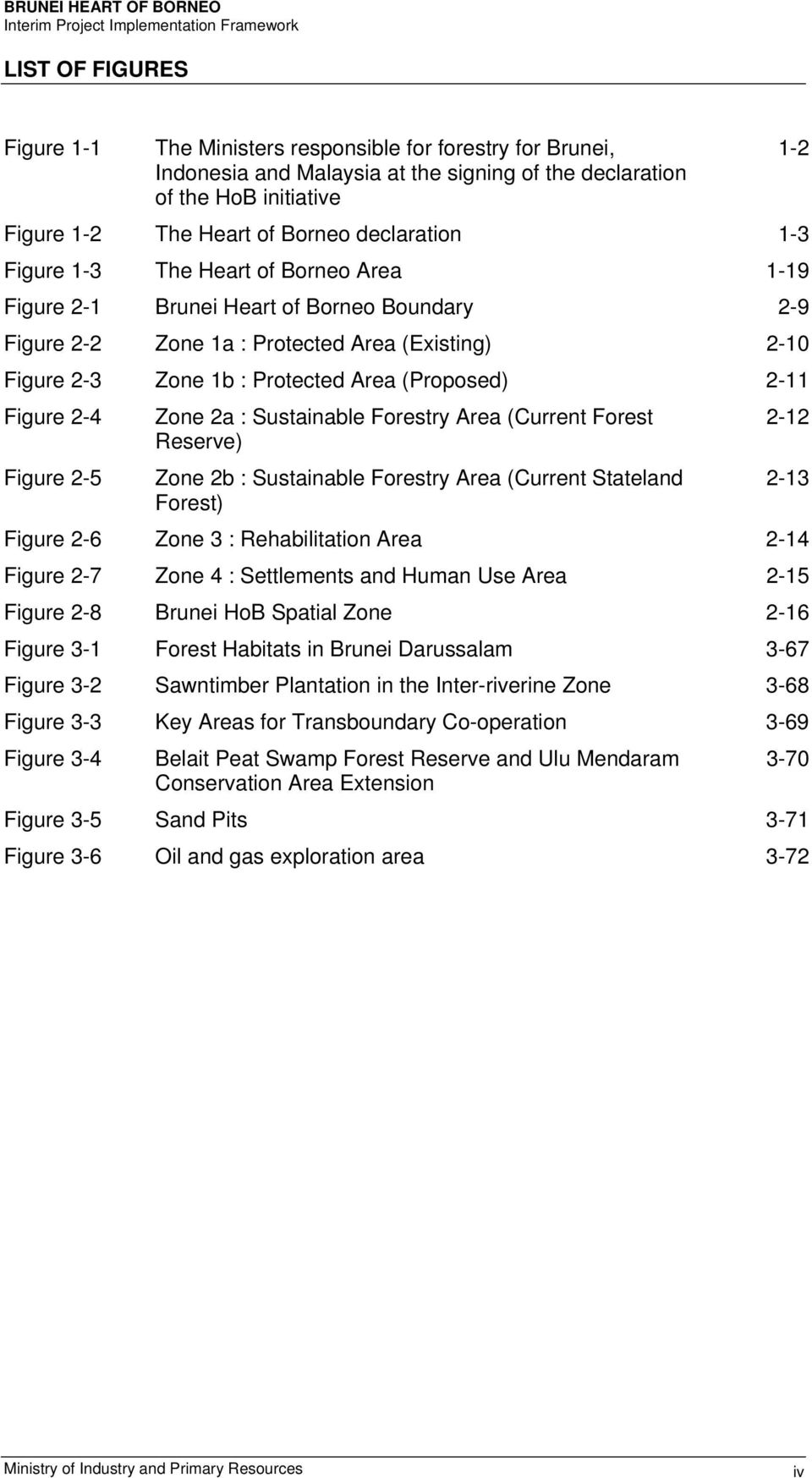 (Proposed) 2-11 Figure 2-4 Figure 2-5 Zone 2a : Sustainable Forestry Area (Current Forest Reserve) Zone 2b : Sustainable Forestry Area (Current Stateland Forest) 1-2 2-12 2-13 Figure 2-6 Zone 3 :