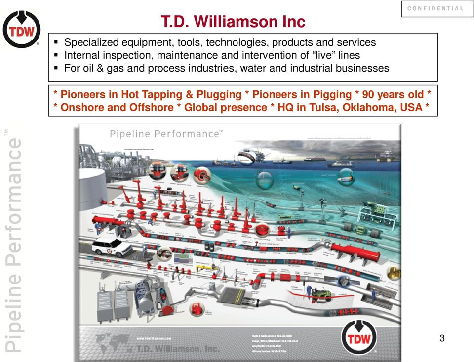 Williamson Inc Specialized equipment, tools, technologies, products and services Internal