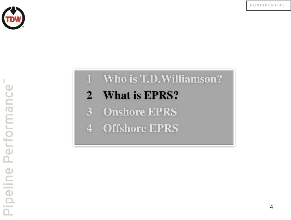 2 What is EPRS?