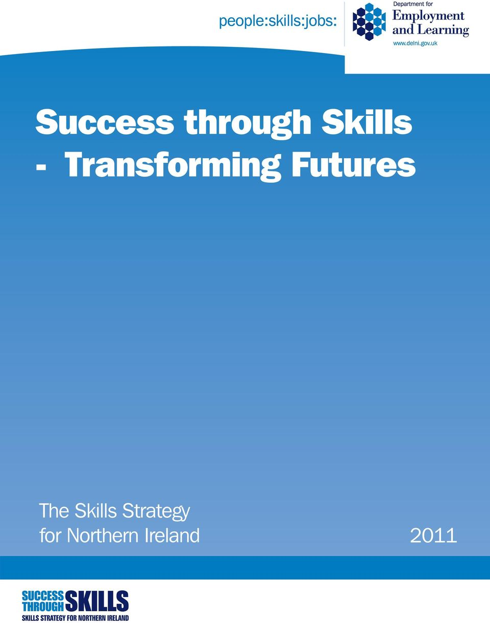 The Skills Strategy