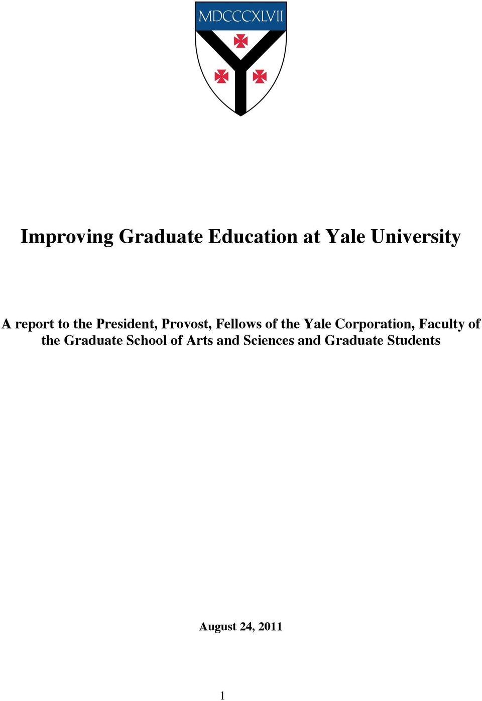Yale Corporation, Faculty of the Graduate School of