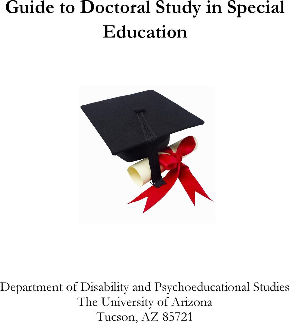and Psychoeducational Studies The