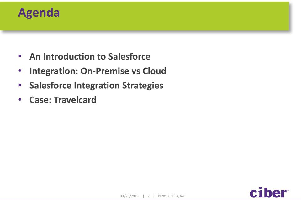 Salesforce Integration Strategies