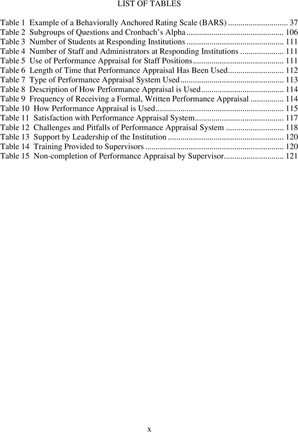 Performance Appraisal Literature Review  Literature review on performance appraisal doc