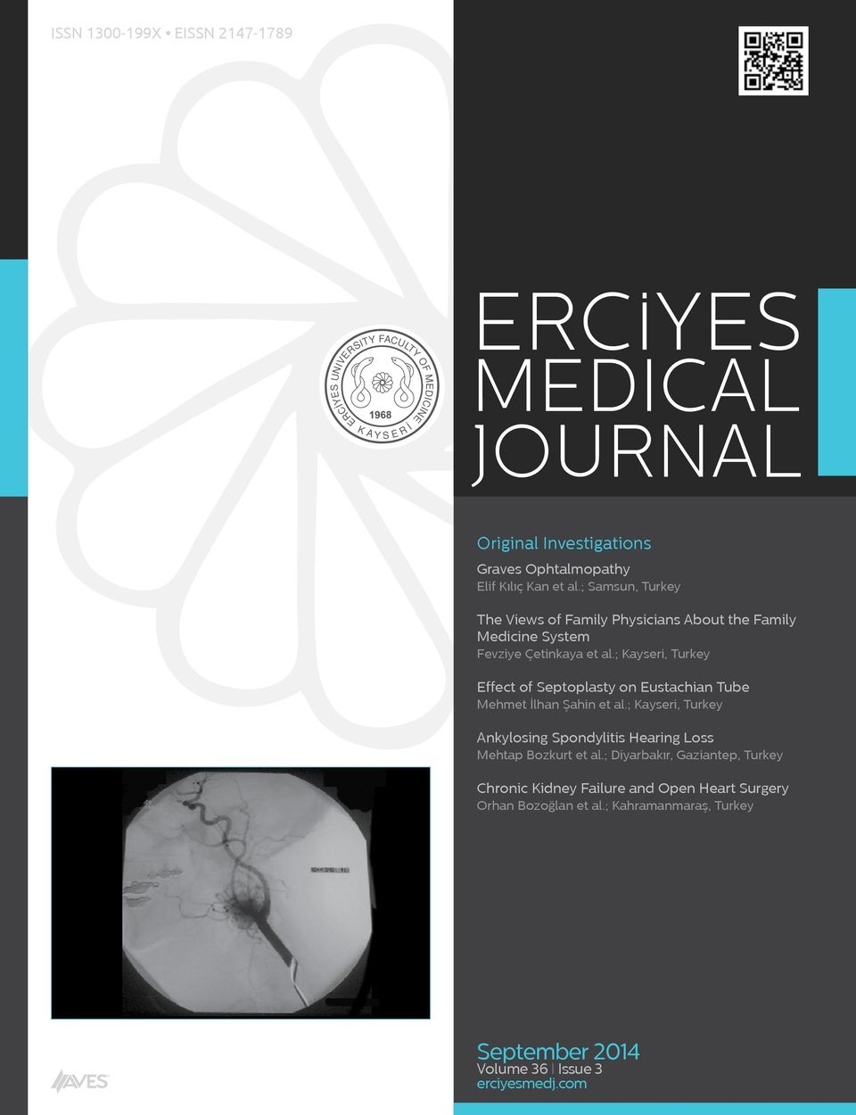 ; Kayseri, Turkey Effect of Septoplasty on Eustachian Tube Mehmet İlhan Şahin et al.
