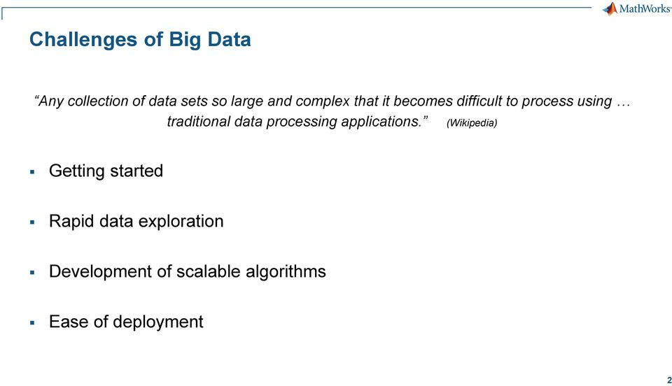 data processing applications.
