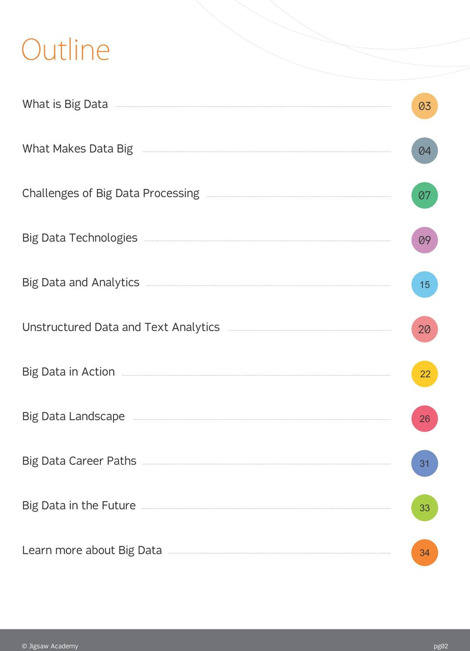 Data and Text Analytics 20 17 Big Data in Action 20 22 Big Data Landscape 23 26 Big