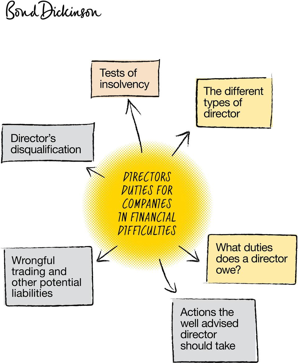 DIRECTORS DUTIES FOR COMPANIES IN FINANCIAL DIFFICULTIES Actions