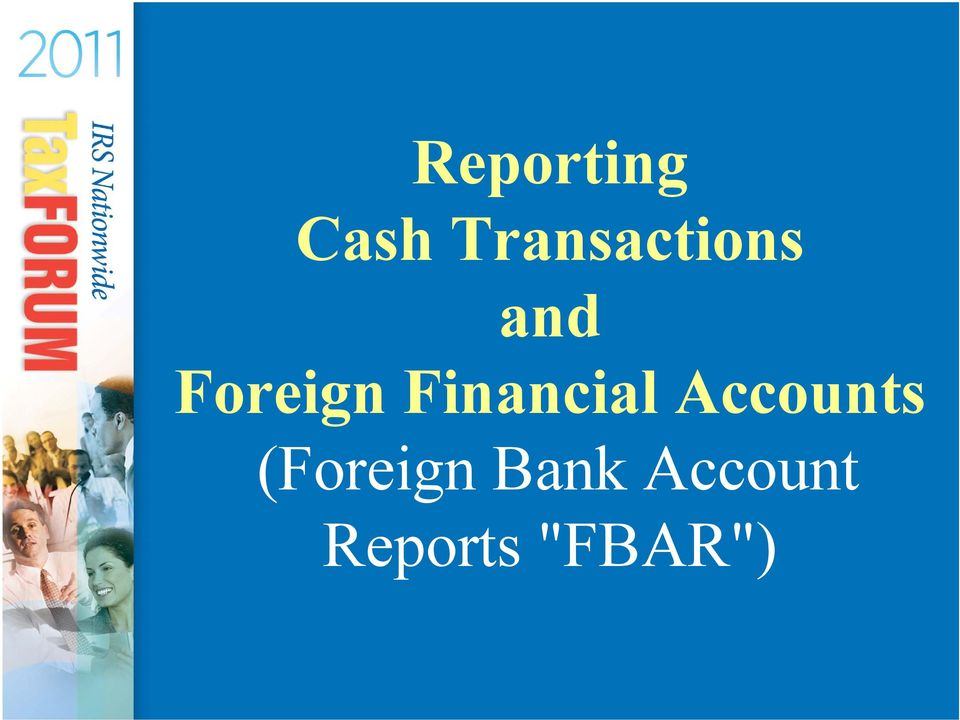 Foreign Financial