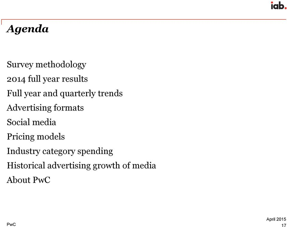 media Pricing models Industry category spending