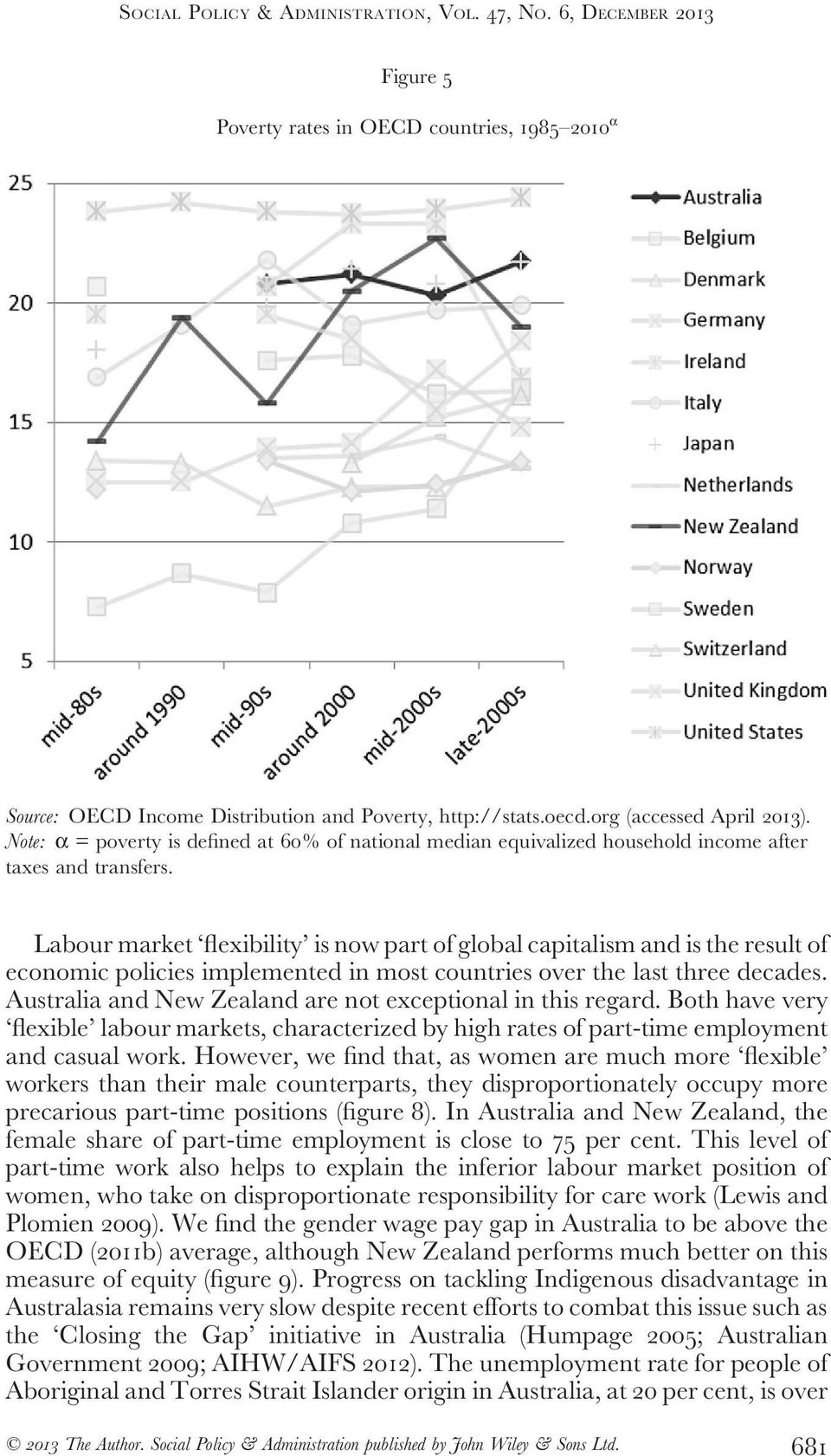 Labour market flexibility is now part of global capitalism and is the result of economic policies implemented in most countries over the last three decades.