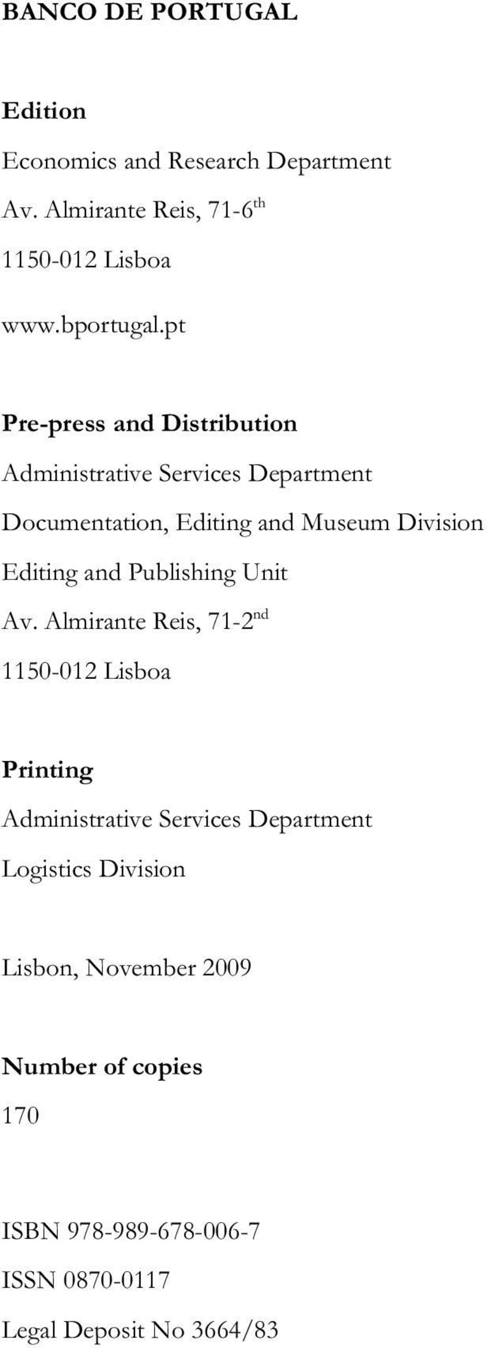 pt Pre-press and Distribution Administrative Services Department Documentation, Editing and Museum Division Editing