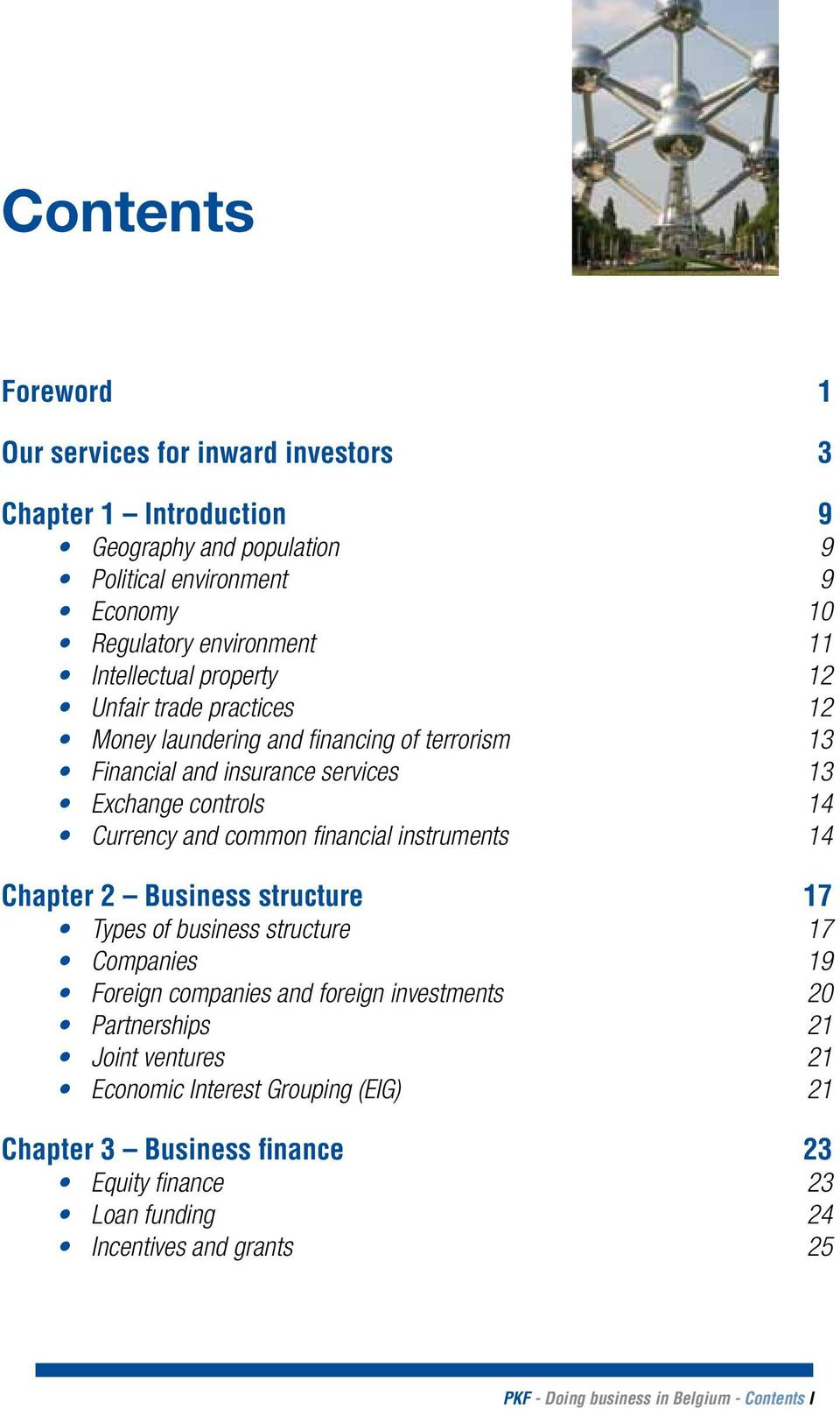 common financial instruments 14 Chapter 2 Business structure 17 Types of business structure 17 Companies 19 Foreign companies and foreign investments 20 Partnerships 21