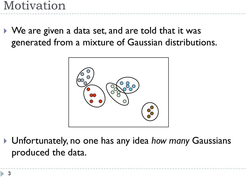 Gaussian distributions.