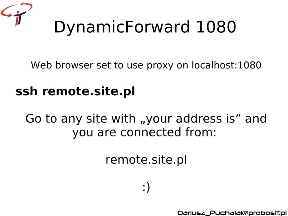 site.pl Go to any site with your address
