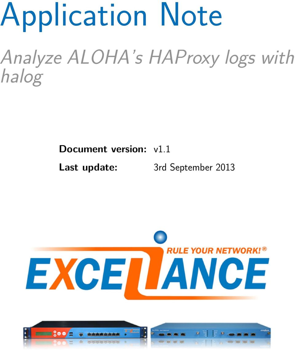 halog Document version: v1.