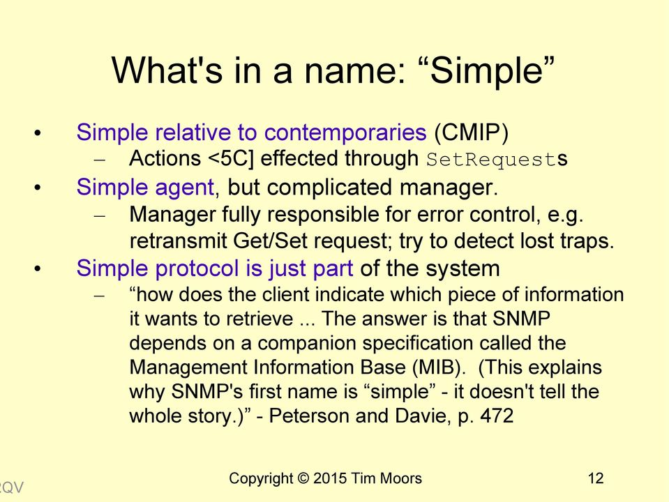 Simple protocol is just part of the system how does the client indicate which piece of information it wants to retrieve.