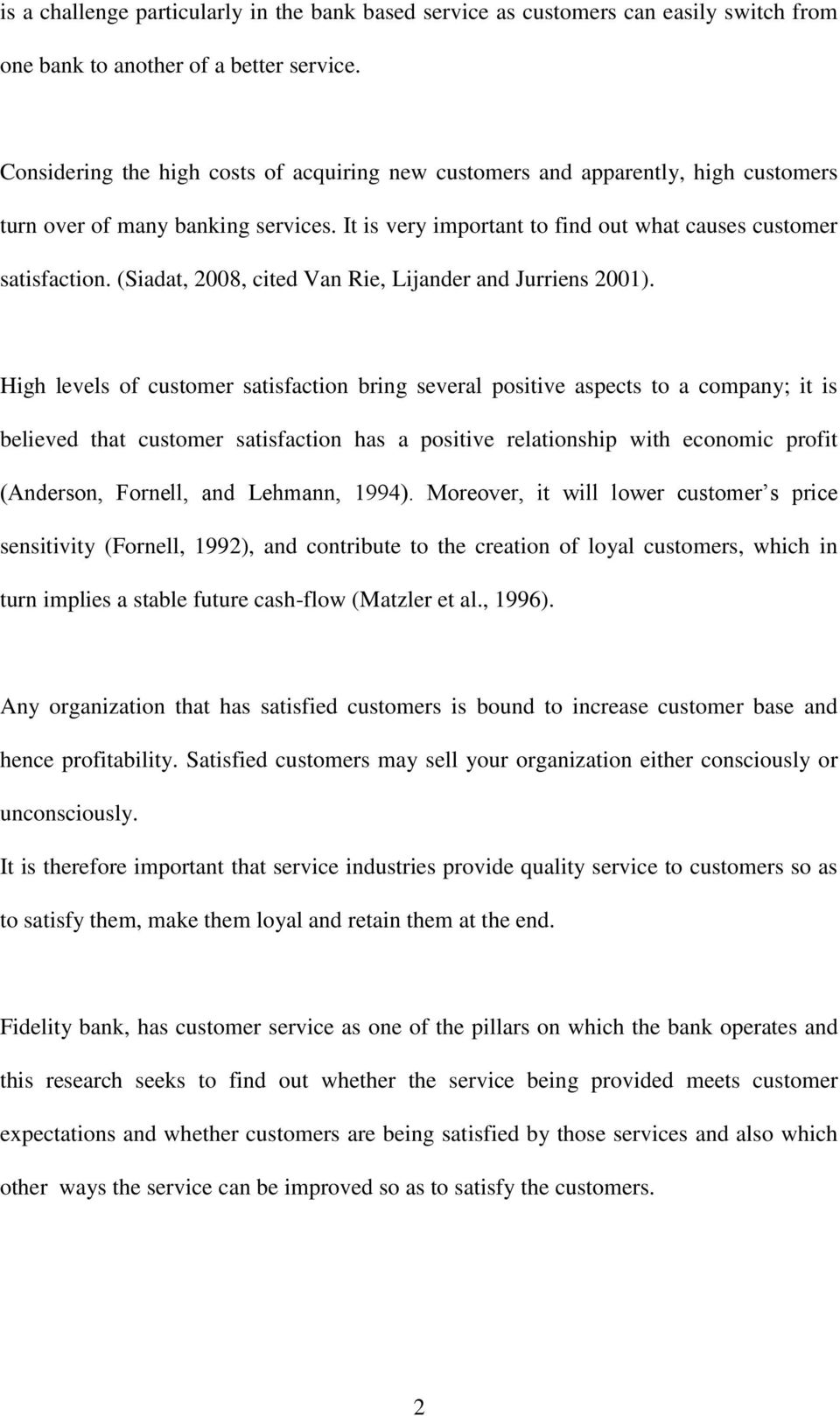 loyalty essay thesis Three essays on the customer satisfaction-customer loyalty association by young han bae an abstract of a thesis submitted in partial fulfillment.