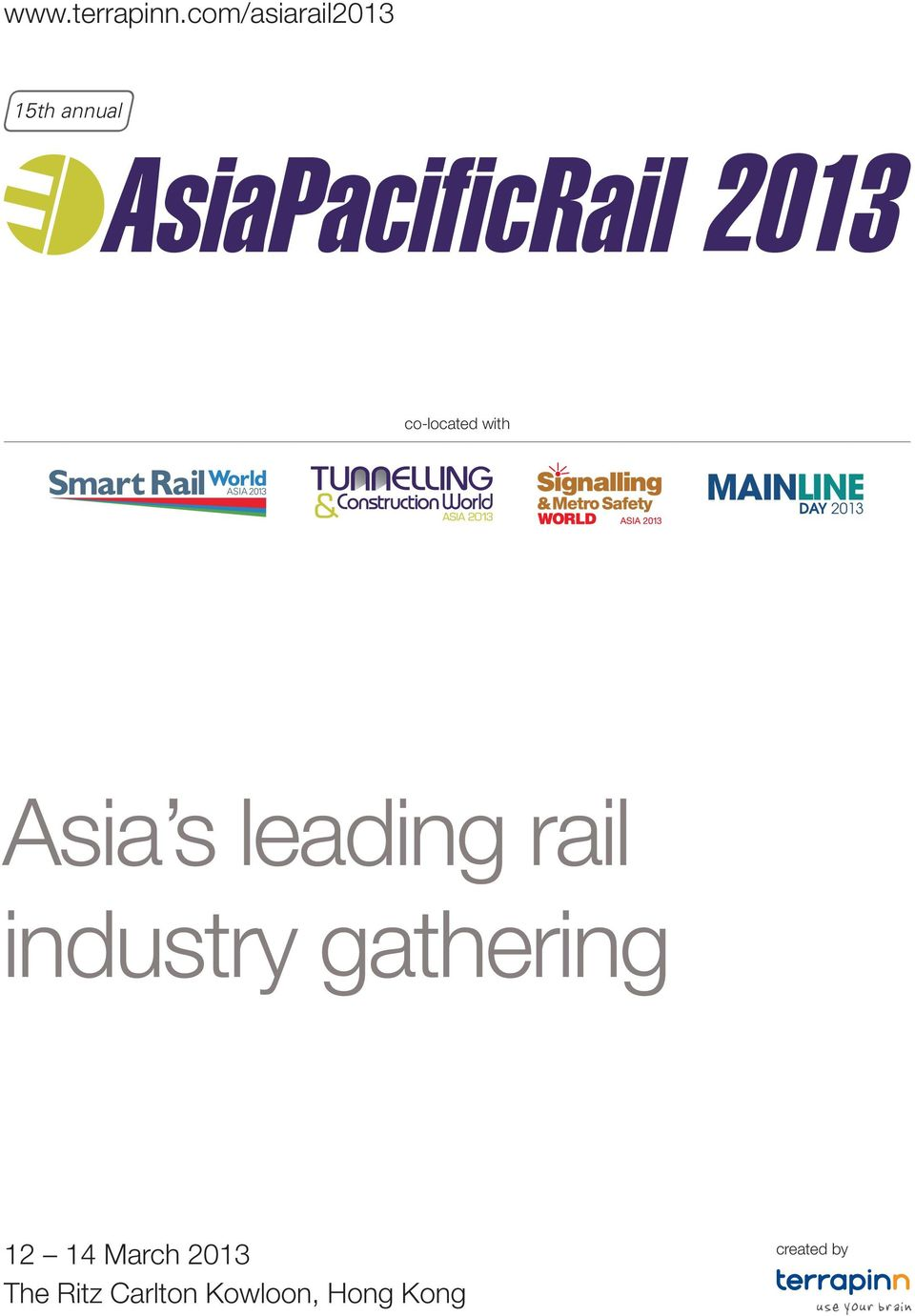 rail industry gathering 12 14