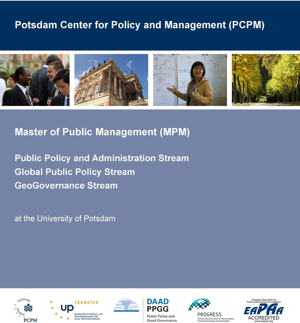 and Administration Stream Global Public Policy