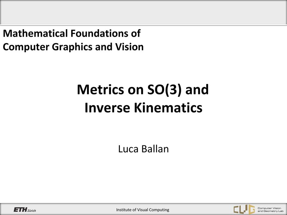 Metrics on SO(3) and Inverse