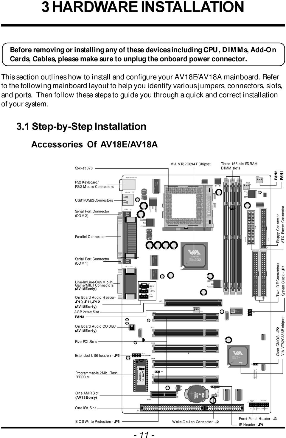 Then follow these steps to guide you through a quick and correct installation of your system. 3.