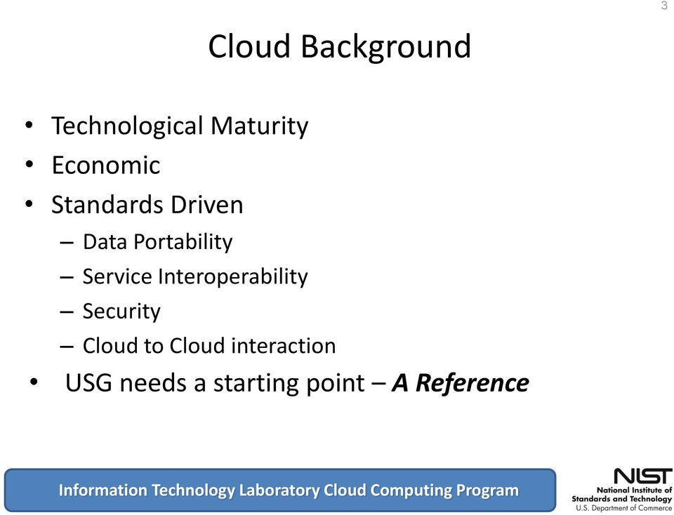 Interoperability Security Cloud to Cloud
