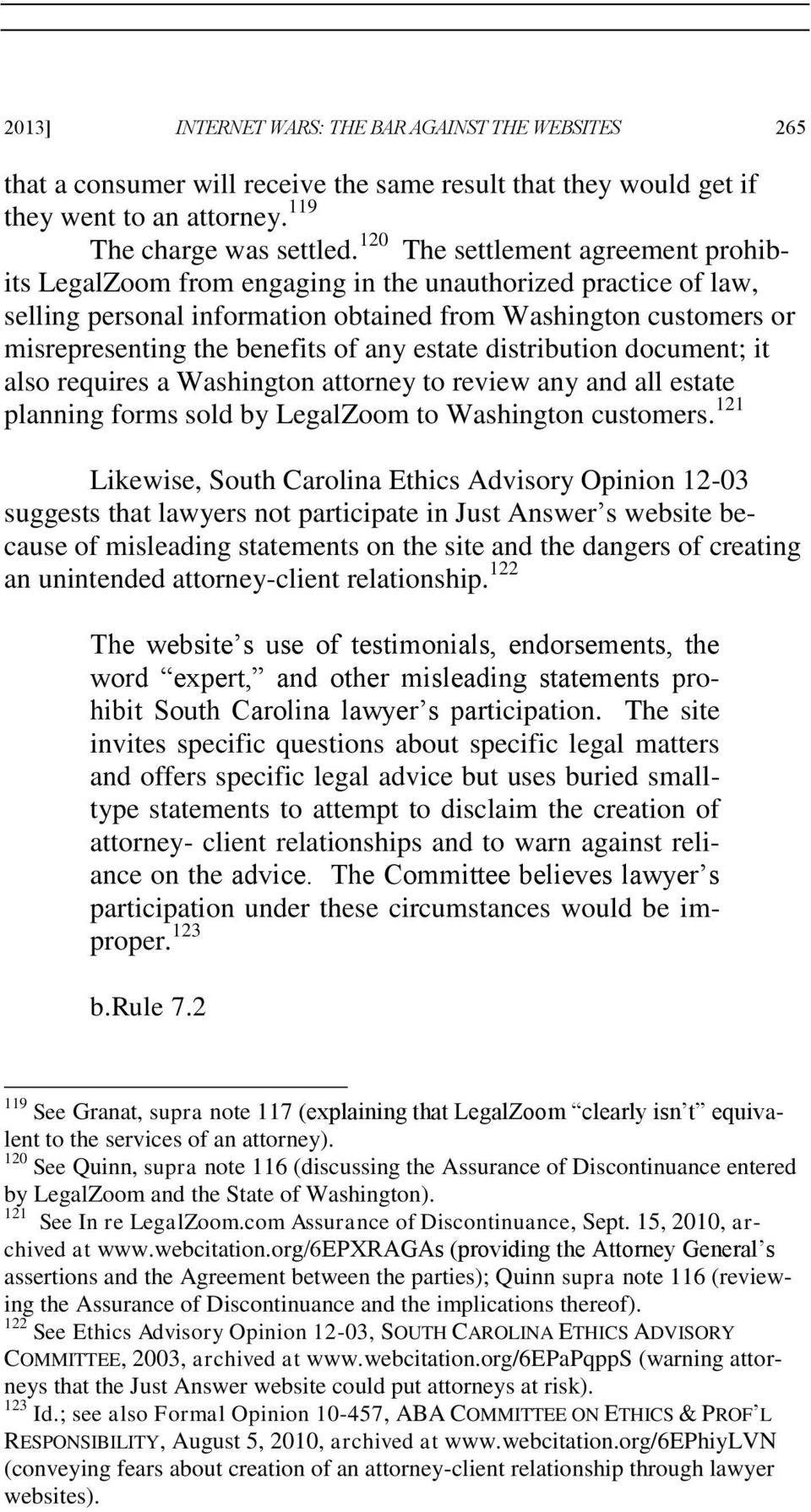 any estate distribution document; it also requires a Washington attorney to review any and all estate planning forms sold by LegalZoom to Washington customers.