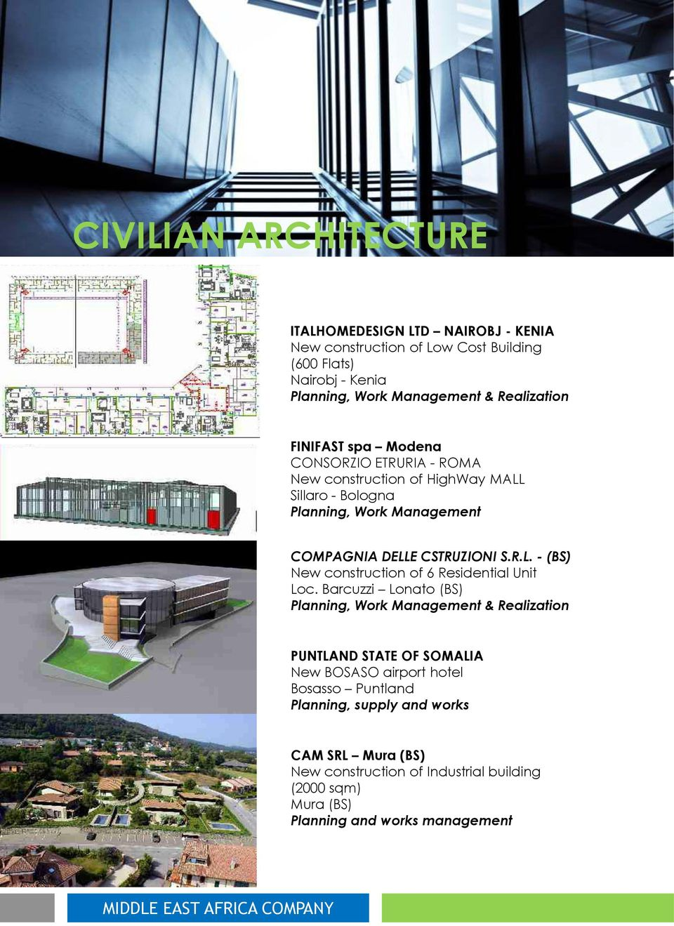 CSTRUZIONI S.R.L. - (BS) New construction of 6 Residential Unit Loc.
