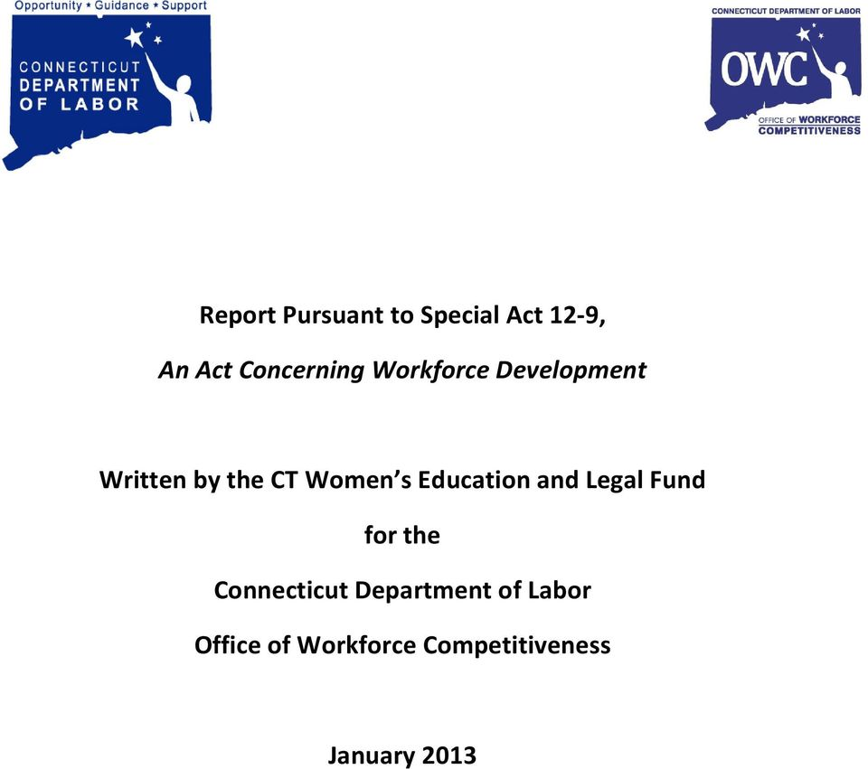 Women s Education and Legal Fund for the Connecticut