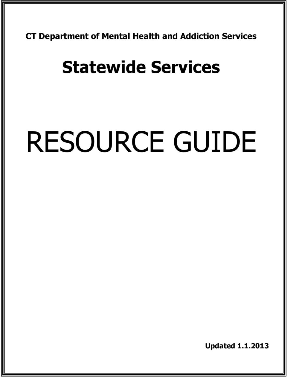 Services Statewide