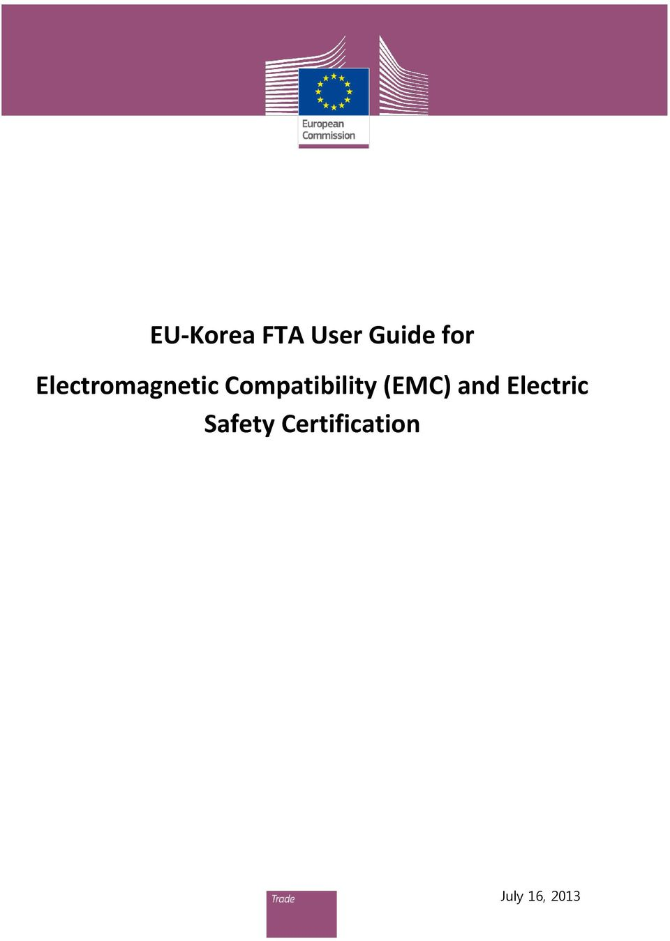 Compatibility (EMC) and