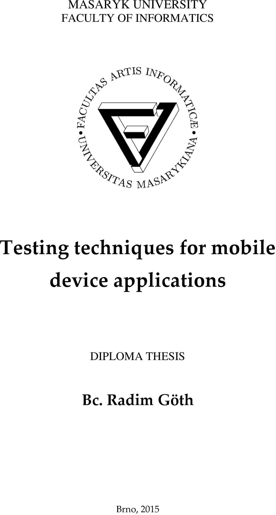 for mobile device applications