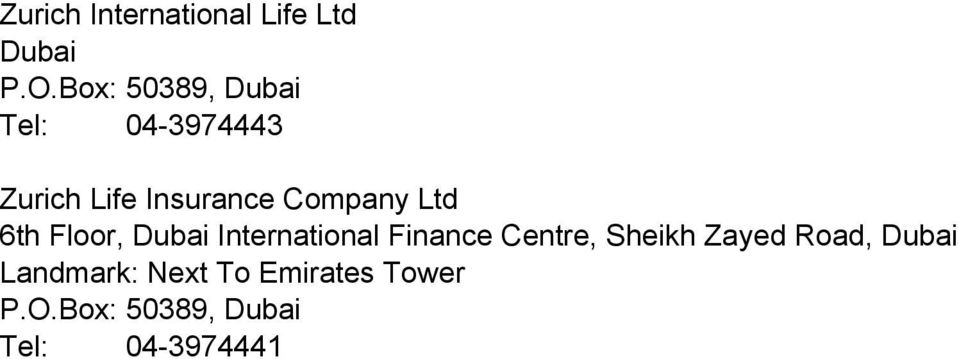 Company Ltd 6th Floor, International Finance Centre,