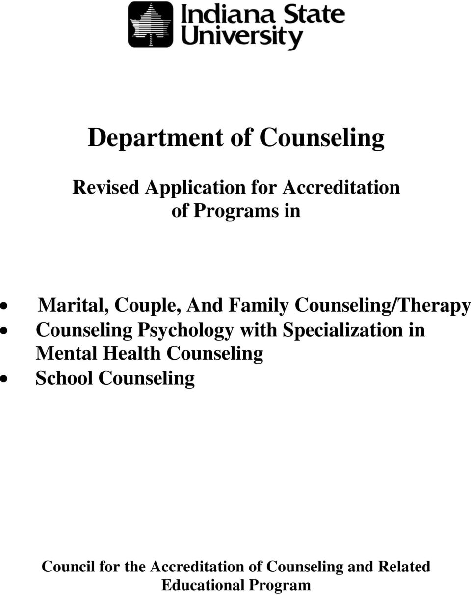 Psychology with Specialization in Mental Health Counseling School