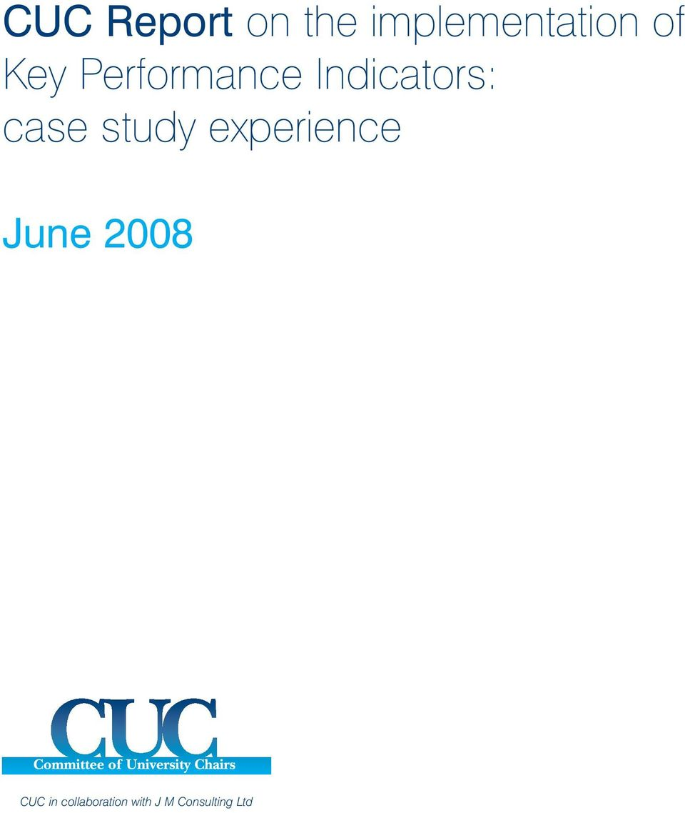 case study experience June 2008