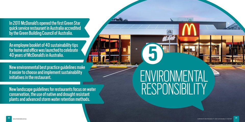 New environmental best practice guidelines make it easier to choose and implement sustainability initiatives in the restaurant.
