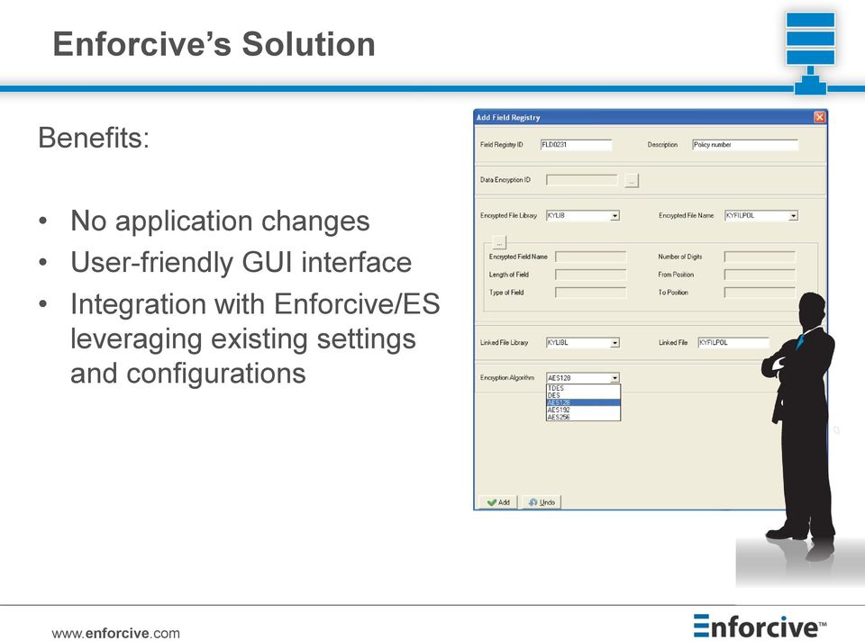 interface Integration with Enforcive/ES