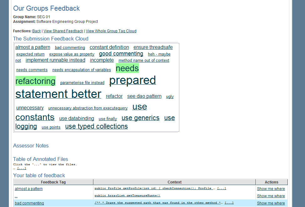 Using Feedback Tags and Sentiment Analysis to Generate Sharable Learning Resources Investigating Automated Sentiment Analysis of Feedback Tags in a Programming Course Stephen Cummins, Liz Burd,