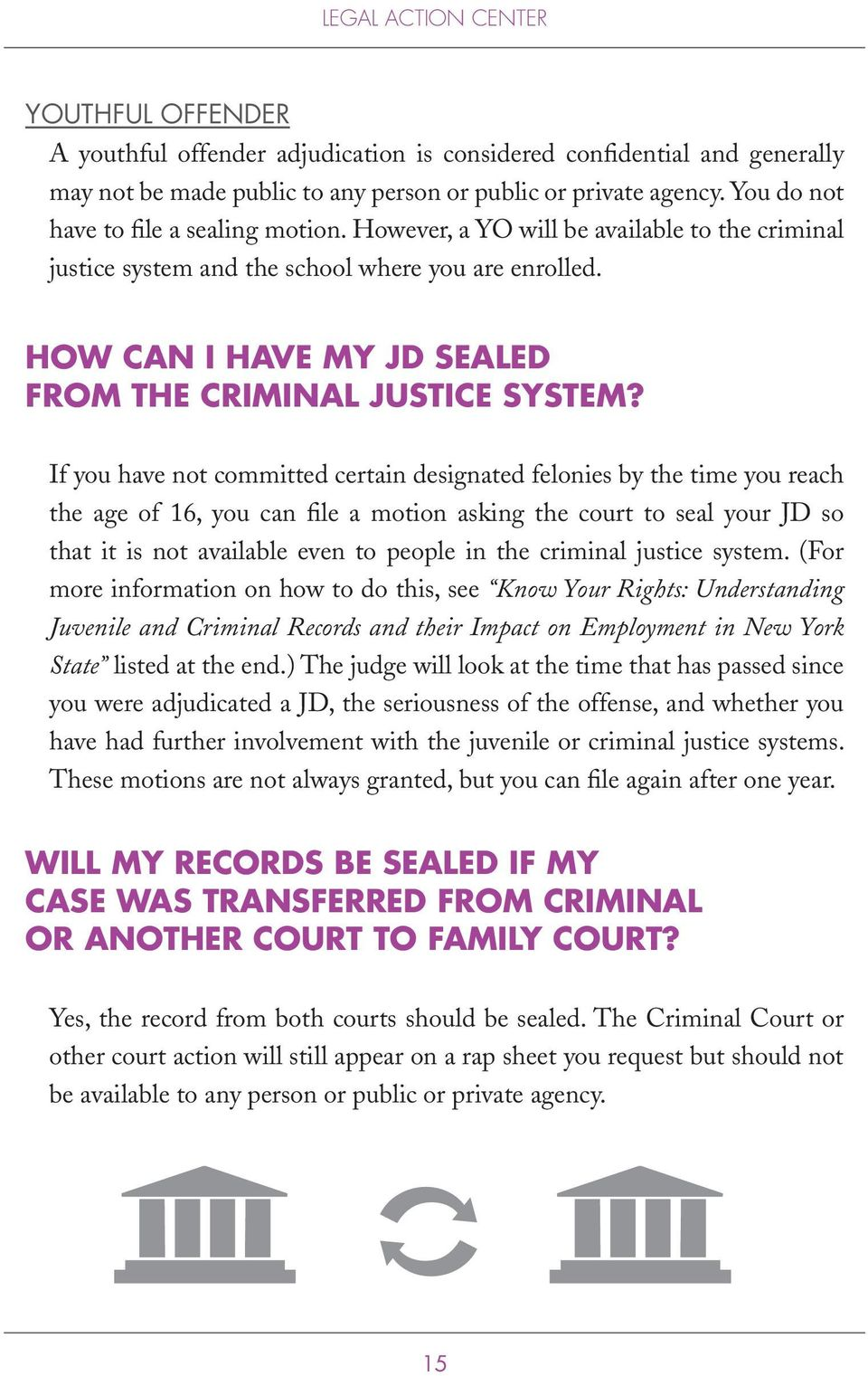 HOW CAN I HAVE MY JD SEALED FROM THE CRIMINAL JUSTICE SYSTEM?