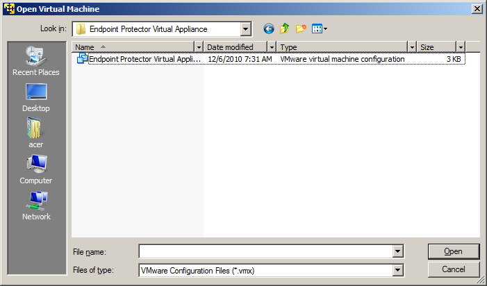 29 Endpoint Protector Virtual Appliance User Manual 3.