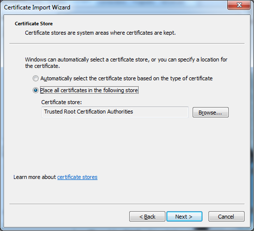 77 Endpoint Protector Virtual Appliance User Manual In the Certificate