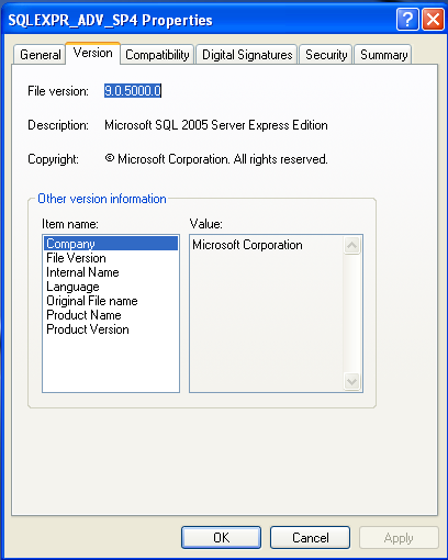 The SQLEXPR_ADV.EXE is the correct install for both 32-bit and 64-bit servers. This will also allow you to install the Management Studio at the same time.