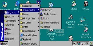 PCMCIA 1 Port RS232 Windows CE Installation Place