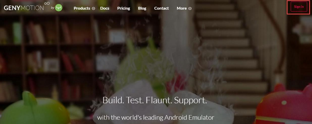 Procedure Genymotion Emulator (Use only if Android Studio Emulator fails) Genymotion is an alternative way to get an emulator ONLY if you cannot get the built-in Android Studio emulators to work.