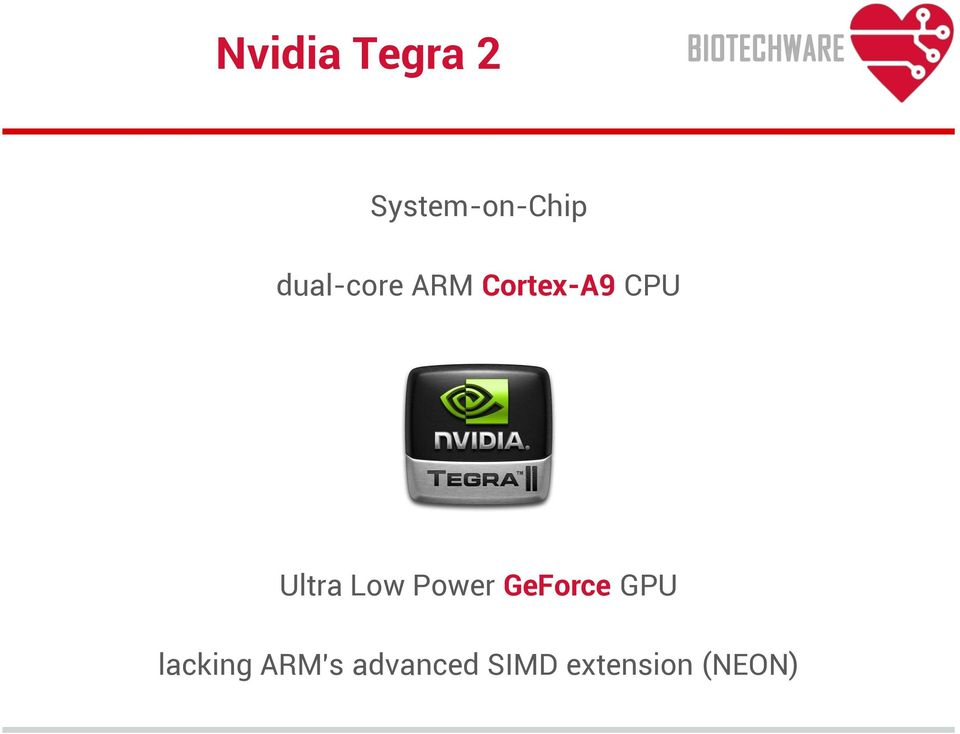 Ultra Low Power GeForce GPU