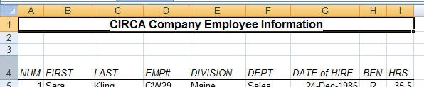Reposition the data in a cell For the optimal display of the data on your worksheet, you may want to reposition the data within a cell.