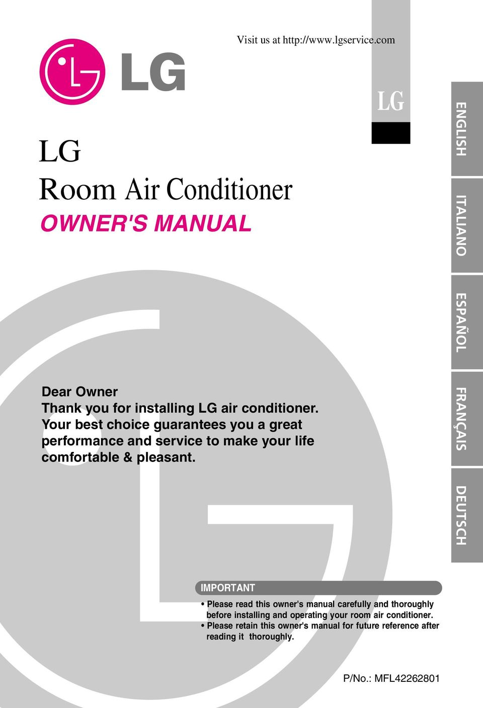 lg inverter air conditioner instructions